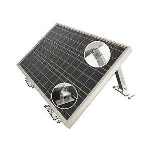 enjoysolar® Master Aluminium-Halterung mit verstellbarem Neigungswinkel 10° -30°