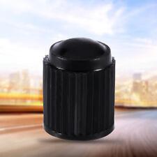 100PZ TAPPI COPRIVALVOLA PNEUMATICI VALVOLA AUTO PLASTICA NERO MOTO BICI CAMION