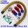 "AN10 -10 10AN  Oil Drain Return Hose fitting Line 1/2"" Flange Kit T3 T4 T70  T61"