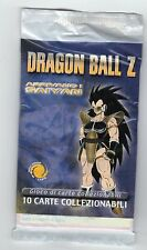 figurina LOTTO 5 BUSTINE CARTE COLLEZIONABILI DRAGON BALL Z TESLA 1986