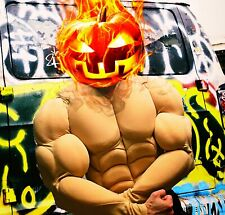 halloween cosplay costume MUSCLE musclesuit suit chest for super hero