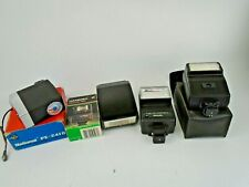 Job Lot of Vintage Camera Flash Guns Tested and Working Olympus Canon Philips