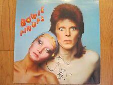 DAVID BOWIE SIGNED LP COA + PROOF! BOWIE PINUPS ALBUM RARE