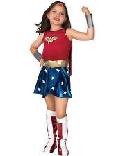 Rubie's Official Deluxe Wonder Woman Fancy Dress 132 Cm Children Costume for