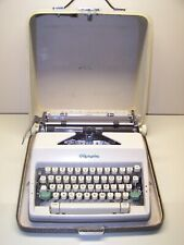 Antique 1964 Olympia SM9 DeLuxe Vintage Typewriter #2513651
