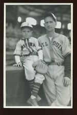 1940/41 Original George Burke 4x6 B&W Photo Rip Radcliffe & Son St. Louis Browns