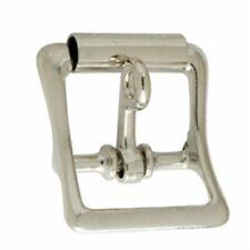 CENTER BAR BUCKLE w//Roller 3//4in Gun Metal Matte WBL 1511-14
