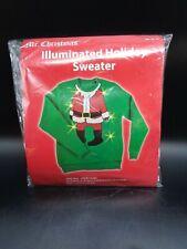 Mr. Chrostmas Illuminated Holiday Sweater Adult Large (D35-1183)