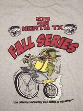 Borba North Texas TX Fall Series 2012 Mountain Biking Bicycle T Shirt L