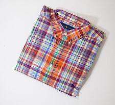 Mens Ralph Lauren Plaid Check Big & Tall Long Sleeve Shirt XLT / TGL