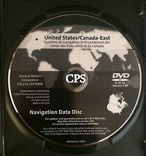 GM CHEVROLET CORVETTE NAVIGATION DVD ROM VERSION 5.00 25976806 EAST