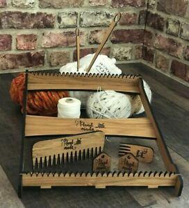 Weaving Loom Large PLUS accessories, weaving for beginners, Lap Loom, Frame Loom