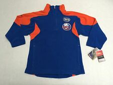 New York Islanders Youth Fleece official Nhl Reebok Face Off Collection
