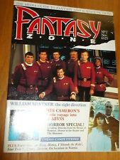 FANTASY ZONE #2 BRITISH MONTHLY NOVERMBER 1989 JAMES CAMERON WILLIAM SHATNER^
