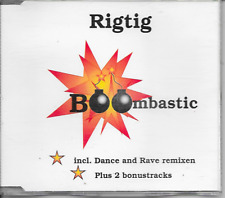 RIGTIG - Boombastic CDM 4TR Hardcore Gabber 1995 Holland (Rave Records)