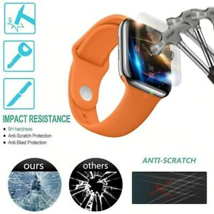 For iWatch Apple Watch4 40/44mm Explosion-proof Screen Protector Film Cover Soft