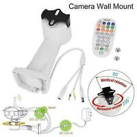 Supporto da parete di sicurezza per staffa rotante motorizzata con telecamera