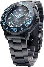 Smith & Wesson Sww-900-Blu Tritium 200M Dive Watch w/Blue Hands/Numbers
