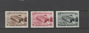 BELGIUM 1948 railway parcels stamp set  MNH** TR 301/303