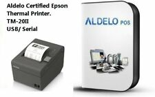 Aldelo Pos Pro Software and Epson Thermal Printer - All New