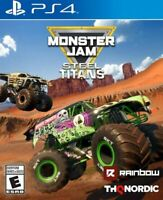 Monster Jam Steel Titans (PlayStation 4 PS4) Brand New Factory Sealed