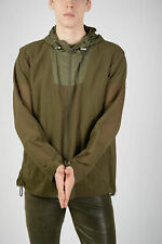 DROME men Jackets Green Fabric Hooded Spring Jacket Size M Green M (Standard ...