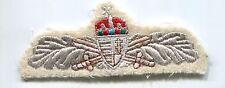 Hungarian Army 24th Reconnaissance NCO Branch Insignia Wing Patch Badge Bullion
