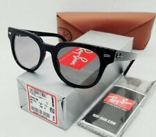 "RAY BAN black/gray POLARIZED ""METEOR CLASSIC"" RB2168 901/P2 50 sunglasses! NEW!"