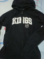 LA Los Angeles Kings black zip up sweater hoodie