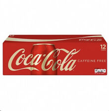 Coca Cola Caffeine Free Soda Soft Drink 12 pack, 12 Oz Cans FAST FREE SHIPPING