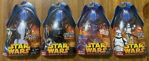 Star Wars Revenge of the Sith EXPLODING BODY GRIEVOUS VADER YODA CLONE TROOPER