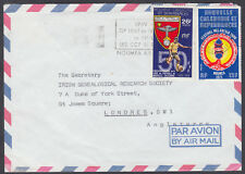 French New Caledonia, Noumea Airmail: Irish Genealogical Research Society,London