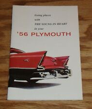 1956 Plymouth Owners Operators Manual 56 Belvedere Fury Savoy Plaza