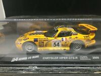 Chrysler viper GTS R #54 Le MANS 2000 1/43 B Derichebourg