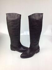 $790 Roberto Del Carlo Sesia Pompei T MORO Leather Boots, Size: EUR 39.5 / US 9