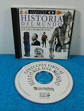 CD HISTORIA DEL MUNDO GUIA MULTIMEDIA COLECCION VIRTUAL