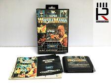 WWF SUPER WRESTLEMANIA Sega Mega Drive PAL Complete. genuine, tested. GOOD!