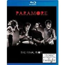 PARAMORE: The Final Riot (Blu-ray Disc, 2009) New / Sealed / Free Shipping