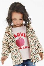 BNWT Next Girls Animal Print Tech Jacket 5-6 Years Shower Proof / Cotton Lined
