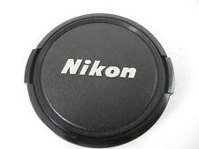 NIKON SNAP CAP FRONT LENS CAP 72 MM WITH SILVER LOGO CLEAN NICE VINTAGE