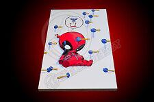Deadpool #1 Skottie Young 11x7 Mounted Photo Print