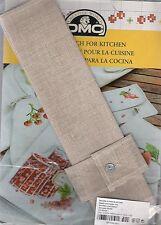 kit DMC fiche+serviette de table et rond de serviette