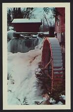 New Hope Mills Moravia New York N.Y. NY postcard