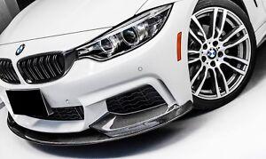 Carbon Fiber Front Bumper Splitter lip Spoiler for BMW 4 Series F32 F33 F36