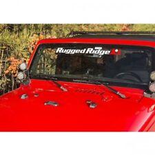 Jeep Wrangler TJ JK Elite Auflage Set Motorhaube schwarz Rugged Ridge 96-17