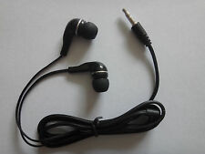 SONY BLACK 3.5mm PLUG In-Ear Earbud Earphone Headset FOR laptop notebook MP4 MP3