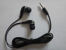 SONY BLACK 3.5mm PLUG In-Ear Earbud Earphone Headset FOR laptop notebook MP4 MP3