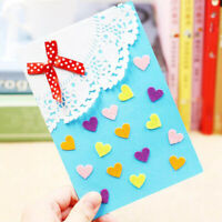 Charm Flower Greeting Card DIY Handmade Material Teacher's Mother's Day Gift H