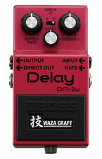 BOSS DM-2W Analog Delay Waza Craft Special Edition Guitar Pedal Priced to Sell