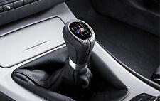 BMW Genuine M Gear Shift Knob+Gaiter Leather Black 6-Speed 3 Series 25118037309